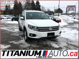 Used 2014 Volkswagen Tiguan Comfortline+GPS+Camera+Pano Roof+4Motion+New Brake for sale in London, ON