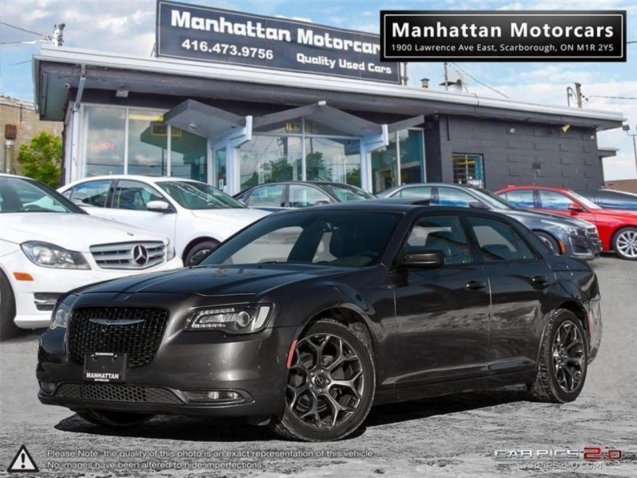 2016 Chrysler 300 300S SPORT |NAV|PANO|CAMERA|WARRANTY|PHONE|56000KM