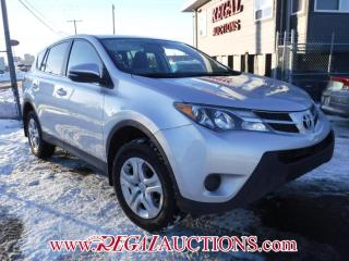 Used 2014 Toyota RAV4 LE 4D UTILITY AWD for sale in Calgary, AB