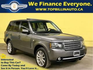Used 2011 Land Rover Range Rover Supercharged, Fully Loaded, Only 63K for sale in Concord, ON