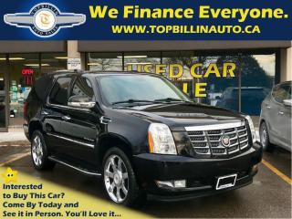 Used 2014 Cadillac Escalade Fully Loaded, 2 Years Warranty for sale in Concord, ON