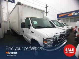 Used 2016 Ford E450 Heavy Duty 16' Cube Van, Power Rail Tailgate for sale in Vancouver, BC