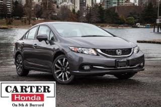 Used 2015 Honda Civic Touring, low kms, local, Certified! for sale in Vancouver, BC