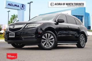 Used 2014 Acura MDX Navigation at Accident Free|Navigation| Leather|Bl for sale in Thornhill, ON