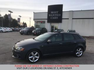 Used 2013 Audi A3 2.0T QUATTRO AWD | S-LINE PANORAMIC SUNROOF for sale in Kitchener, ON