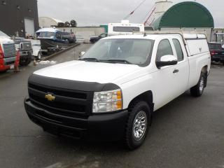 Used 2011 Chevrolet Silverado 1500 Work Truck Extended Cab Long Box 4WD with Canopy for sale in Burnaby, BC
