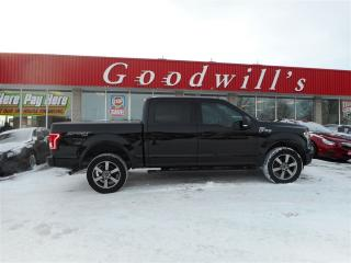 Used 2016 Ford F-150 XLT! CREW SPORT! 4X4! V-8! HEATED SEATS! for sale in Aylmer, ON