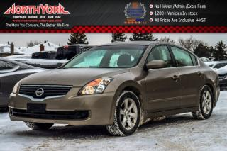 Used 2008 Nissan Altima 2.5 S|Pwr.Options|Keyless_Go|A/C|Pwr.Options|AM/FM|Aux.Input for sale in Thornhill, ON