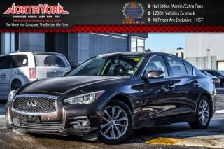 Used 2014 Infiniti Q50 Premium AWD|Tech.,Deluxe Touring Pkgs|Nav|Sunroof|17