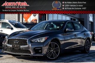 Used 2016 Infiniti Q50 S 3.0t|AWD|Driver Asst.,Sport Tech Pkg|Sunroof|Nav|BOSE|19