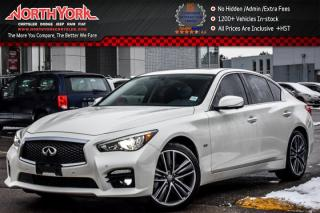 Used 2016 Infiniti Q50 S 3.0t|AWD|Nav|Sunroof|Leather|BOSE|360 Cam|R.Start|19