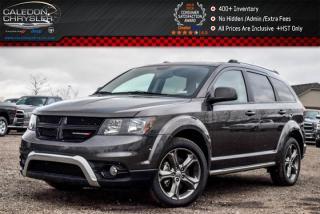 Used 2017 Dodge Journey Crossroad|AWD|7 Seater|Navi|Sunroof|DVD|Backup Cam|Bluetooth|R-Start|19