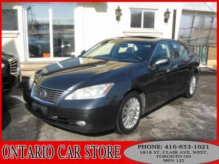 Used 2007 Lexus ES 350 !!!1 OWNER LOCAL ONTARIO CAR!!! for sale in Toronto, ON