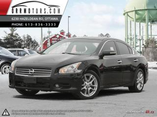 Used 2010 Nissan Maxima SV for sale in Stittsville, ON