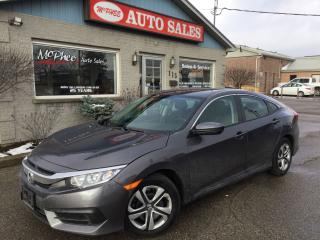 Used 2016 Honda Civic LX for sale in London, ON