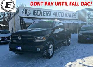 Used 2014 RAM 1500 SPORT QUAD CAB 4X4 WITH RUNNING BOARDS for sale in Barrie, ON