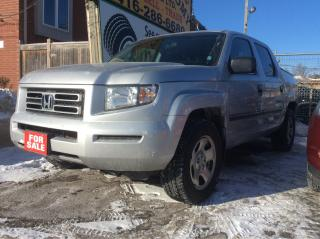 Used 2006 Honda Ridgeline LX for sale in Scarborough, ON