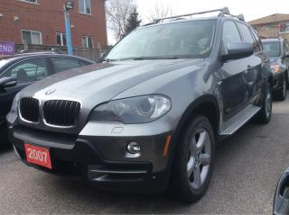 Used 2007 BMW X5 NAV/BLUETOOTH/LEATHER/PANORAMIC ROOF/AUX/HEATED for sale in Scarborough, ON
