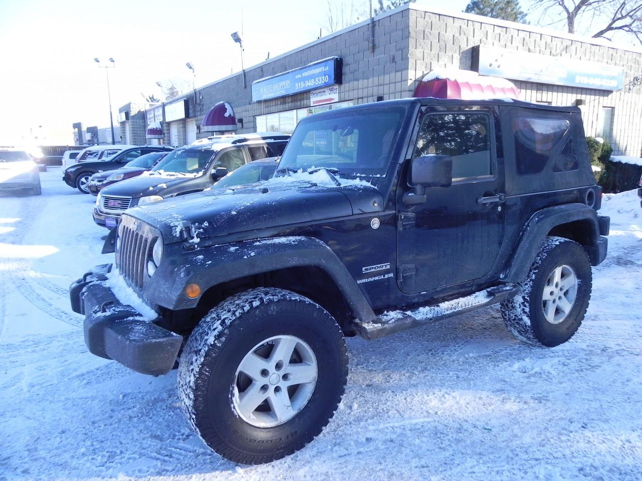 Photo of Black 2011 Jeep Wrangler