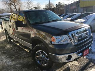 Used 2007 Ford F-150 XLT / Auto / 4WD / Alloys / Quad cab for sale in Scarborough, ON