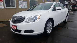 Used 2016 Buick Verano FACTORY WARRANTY-LOADED-FWD-CLEAN for sale in Tilbury, ON