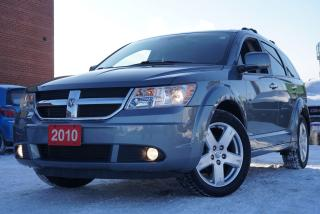 Used 2010 Dodge Journey R/T,Low KMs,Camera,DVD,7PASS.,AWD,Leather for sale in North York, ON