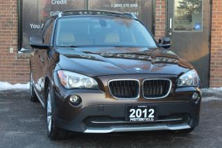 Used 2012 BMW X1 28i AWD *NO ACCIDENTS, ONTARIO SUV, CERTIFIED* for sale in Scarborough, ON