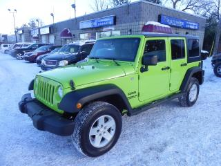 Used 2012 Jeep Wrangler SPORT * MANUAL * 2 TOPS for sale in Windsor, ON