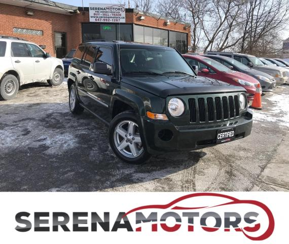 2010 Jeep Patriot NORTH EDITION | 4X4 | SUNROOF | BLUETOOTH |