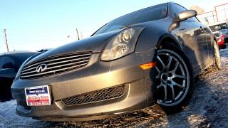 Used 2006 Infiniti G35 Sport, 80K ON NEW ENGINE, LEATHER, S-ROOF, RIMS for sale in North York, ON