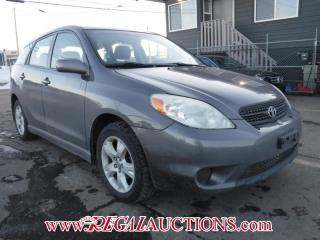Used 2005 Toyota MATRIX XR 4D HATCHBACK for sale in Calgary, AB