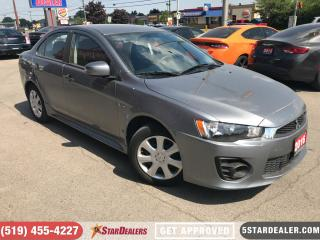 Used 2016 Mitsubishi Lancer ES | ONE OWNER for sale in London, ON