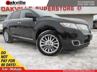 Used 2011 Lincoln MKX LEATHER | NAVI | PANO ROOF | REMOTE START |B/U CAM for sale in Oakville, ON