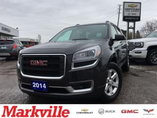 Used 2014 GMC Acadia SLE1 - ONE OWNER TRADE -CERTIFIED PRE-OWNED for sale in Markham, ON