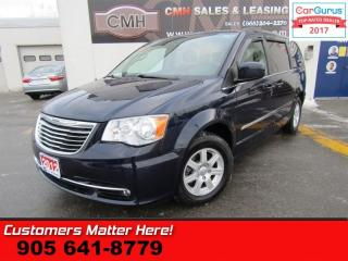 Used 2012 Chrysler Town & Country Touring  STOW N GO, NAVI, ROOF, DVD, CAMERA for sale in St Catharines, ON