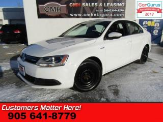 Used 2013 Volkswagen Jetta Trendline  HYBRID, LEATHER, HEATED SEATS, PWR GRP, ALLOYS for sale in St Catharines, ON