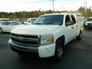 Used 2010 Chevrolet Silverado 1500 LS Crew Cab 4WD with Canopy for sale in Burnaby, BC