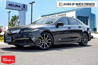 Used 2015 Acura TLX 3.5L P-AWS w/Tech Pkg Accident Free| Navigation| S for sale in Thornhill, ON