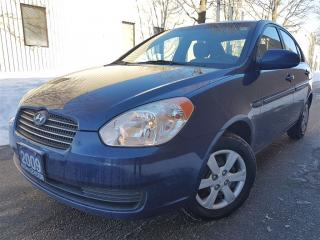 Used 2009 Hyundai Accent GL-SUPER CLEAN-CERTIFIED for sale in Mississauga, ON