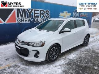 Used 2017 Chevrolet Sonic SUNROOF, HEATED SEATS, 1.4L TURBOCHARGED 4 CYL for sale in Ottawa, ON