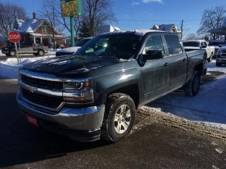 Used 2017 Chevrolet Silverado 1500 LT  4X4  CREW  CAB for sale in Belmont, ON