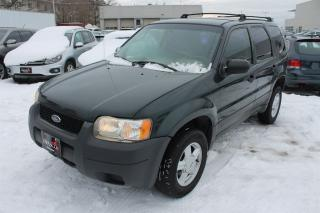 Used 2003 Ford Escape XLS for sale in Whitby, ON