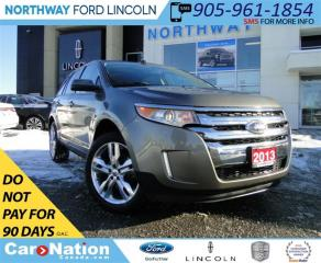 Used 2013 Ford Edge SEL | NAV | PANO ROOF | TOW PKG | REAR CAM| for sale in Brantford, ON