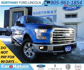 Used 2015 Ford F-150 XLT XTR| NAV | 4X4 | REAR CAMERA & SENSORS | for sale in Brantford, ON