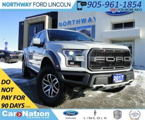 Used 2017 Ford F-150 Raptor | NAV | LEATHER | 360 CAMERA | PANO ROOF | for sale in Brantford, ON