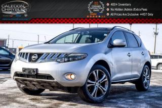 Used 2009 Nissan Murano LE|AWD|Pano Sunroof|Backup Cam|Bluetooth|Leather|Heated Seats|20