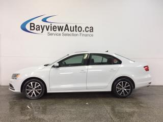 Used 2015 Volkswagen Jetta - ALLOYS! SUNROOF! HTD SEATS! REV CAM! BLUETOOTH! for sale in Belleville, ON