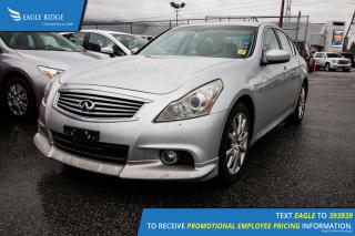 Used 2010 Infiniti G37 X Heated Seats, Navigation, Rear Vision Camera for sale in Port Coquitlam, BC