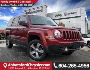 Used 2015 Jeep Patriot Sport/North *ACCIDENT FREE* *LOCALLY DRIVEN* for sale in Abbotsford, BC