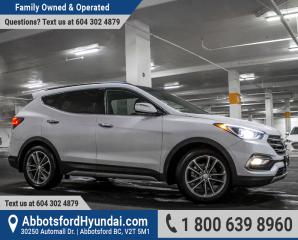 Used 2017 Hyundai Santa Fe Sport 2.0T Ultimate ACCIDENT FREE, GREAT CONDITION & BC OWNED for sale in Abbotsford, BC